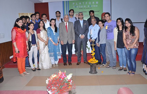 Platform Lecture Series by Mr. Abhishek Somany at